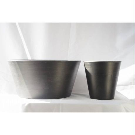 BlackPot30cm(Shallow)/Black