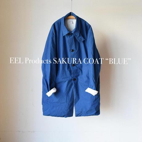 【comodaの春はこのコートから!】EEL Products イール プロダクツ サクラコート  ウォルナット/スミクロ/ブルー