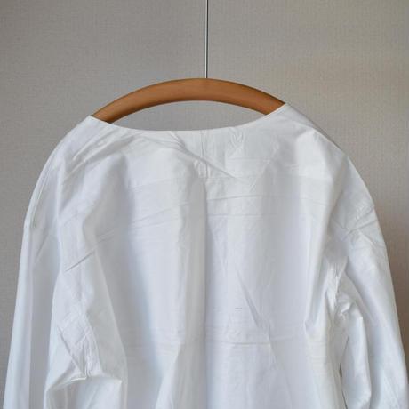【VネックのシャツT!】 MILITARY DEAD STOCK  ロシア軍スリーピングシャツ 春夏ver  ホワイト