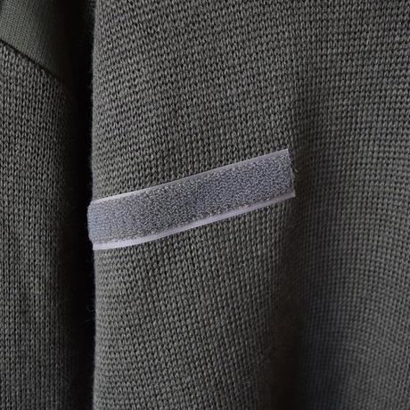 【セントのミリタリー初ゲット!】MILITARY USED  SAINTJAMES セントジェームス フランス軍コマンドセーター オリーブ