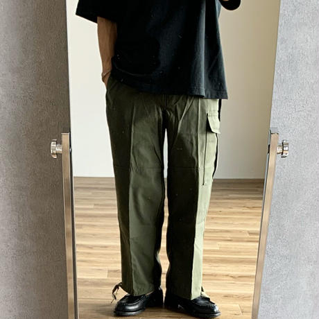 """MILITARY DEADSTOCK  BELGIAN ARMY """"M-88""""FIELD PANTS WITH POCKET ベルギー軍カーゴパンツ オリーブ"""