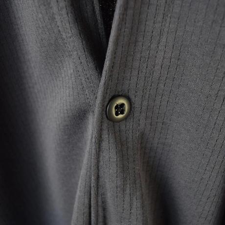 【1枚でサマになるロングカーデ!】Jackman ジャックマン ロッカーローブ ブラック/Dグレー