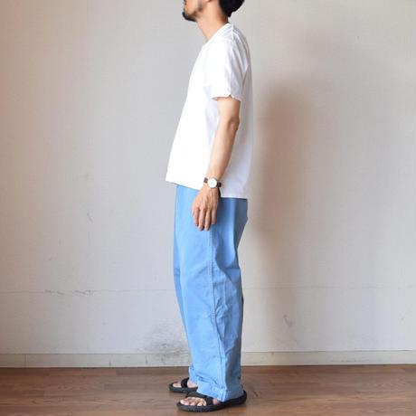 【サンダルとの相性抜群!】EEL Products  BOSTON PANTS イール プロダクツ ボストンパンツ ブルー/チャコール