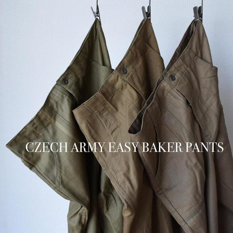 【バルーンシルエットの軍パン!】MILITARY DEADSTOCK  チェコ軍イージーベイカーパンツ