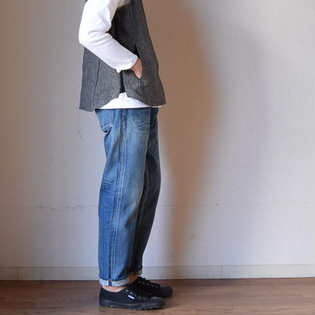 【RECOMMEND】Ordinaryfits オ 5PKT ANKLE DENIM USED オーディナリーフィッツ アンクルデニム ユーズド