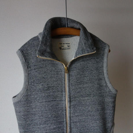 "【RECOMMEND】Kepani  STAND NECK VEST  ""Pinnacle Park GRY ケパニ スタンドネックベスト""ピナクルパーク"" グレー"