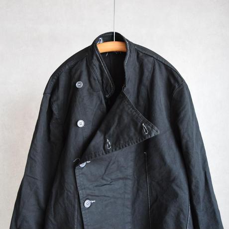 MILITARY DEADSTOCK  イタリア軍コックジャケット 後染めブラック
