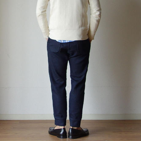 【RECOMMEND】F.O.B エフオービーファクトリー F0404 RELAX SWEAT PANTS リラックススウェットパンツ INDIGO インディゴ UNISEX 男女兼用