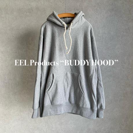 "EEL Products  ""BUDDY HOOD"" ヘビースウェット プルオーバーパーカー"
