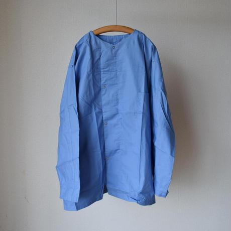 【こちらがオリジナルカラー!】 MILITARY DEADSTOCK  アメリカ軍 スリーピングシャツジャケット サックス