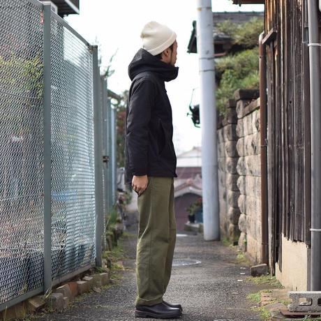 【完売御礼】nisica HOOD BLOUSON BLK UNISEX/ ニシカ フードブルゾン ブラック 男女兼用