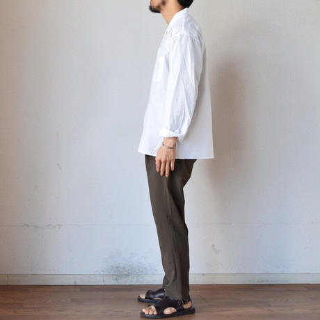 【夏の長袖シャツの本命!】EEL Products  イール プロダクツ 風鈴シャツ ホワイト