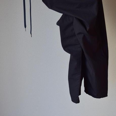【2017春夏新作】AUDIENCE HORSE CLOTH WIDE EASY ANKLE PANTS NVY オーディエンス 馬布ワイドイージーアンクルパンツ ネイビー
