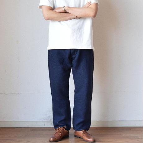 【リネンver登場!】EEL Products イール プロダクツ 夏の砂浜デニム  インディゴ