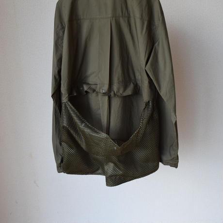 【comodaに新風を起こすブランド!】 EFILEVOL NO BAG SHIRT エフィレボル ノーバッグ シャツジャケット ブラックギンガム/カーキ