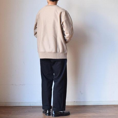 【防寒スウェットのクルーネックT!】A VONTADE CREW NECK SWEAT T ア ボンタージ クルーネック スウェットTシャツ オートミール/アンバーミックス/モカブラウン