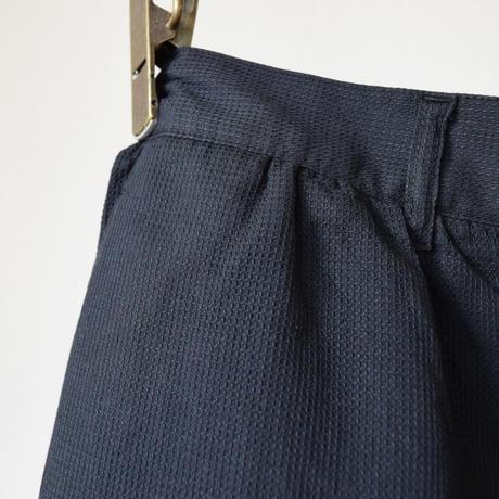 "【今季は異素材のチェック柄とブラック!】EEL Products ""SUN PANTS"" イール プロダクツ ""サンパンツ"" ブラウンチェック/ブラック"