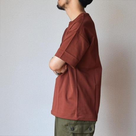 """【タックイン""""風""""スタイルTEE!】A VONTADE 9oz SILKET ATHLETIC T-SHIRTS  ア ボンタージ シルケット ポケットTシャツ ブリック"""