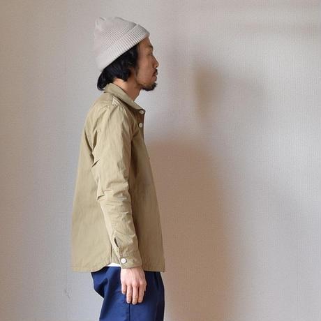 【2017春夏新作】Re made in tokyo japan CPO JACKET BEIGE  アールイーメイドイントーキョージャパン CPOジャケット ベージュ