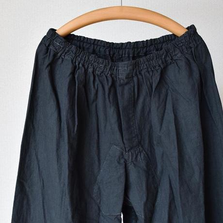 【シャツがあるならパンツもある!】 MILITARY DEAD STOCK  ロシア軍スリーピングパンツ 後染めブラック