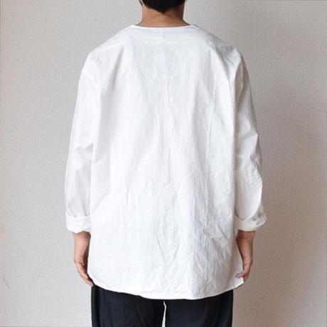 【春夏用スリーピングシャツ!】 MILITARY DEAD STOCK  ロシア軍スリーピングシャツver2  ホワイト