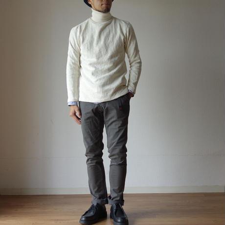 Tieasy AUTHENTIC CLASSIC ティージーオーセンティッククラシック ORIGINAL HIGH NECK SHIRT オリジナルハイネックシャツ ナチュラル