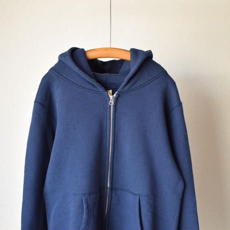 【RECOMMEND】Barns Outfitters TURIAMI ZIP PARKER NVY  バーンズアウトフィッターズ 吊り編み裏毛ジップパーカー ネイビー