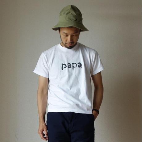 【完売御礼】15jyugo ジュウゴ PAPA-T&MAMAN-T パパT&ママンT WHT ホワイト UNISEX 男女兼用