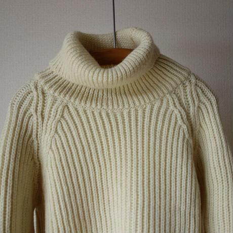 Kerry Woolen Mills ケリーウーレンミルズ Fisherman Rib Polo Neck Sweater フィッシャーマン リブ ポロ ネックセーター 3カラー