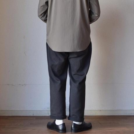 【春のニットパンツという提案!】STILL BY HAND スティルバイハンド  ニット イージーパンツ ブラウン/チャコール