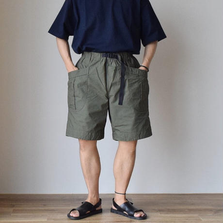 A VONTADE FATIGUE SHORTS -ARMY RIP STOP- ア ボンタージ   リップストップ ファティーグショーツ 無地3カラー