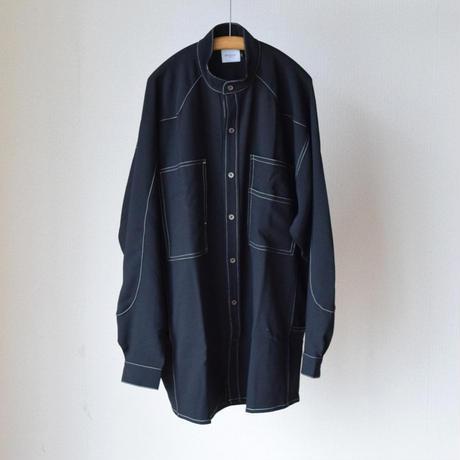 EFILEVOL WESTERN YOKE SHIRT エフィレボル  ウエスタンヨークシャツ ブラック/ネイビー