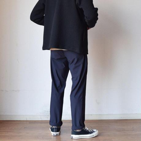 """【盤石のスリムテーパードシルエット!】F.O.B FACTORY """"DEPARTURE""""  スリムアンクルパンツ ネイビー"""