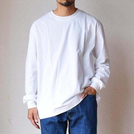 MANUAL ALPHABET OVER SIZED TEE オーバーサイズ ロングスリーブTシャツ グリーン/ホワイト/ブラック/ベージュ