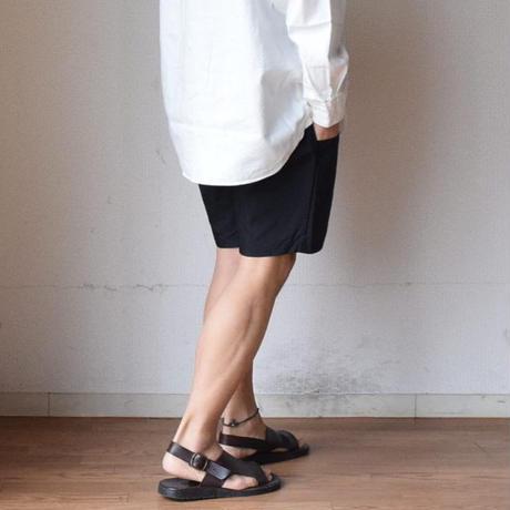 【ご予約承り中】ANTICHI ROMANI アンティキロマーニ ストラップ付レザーサンダル ブラック/ブラウン