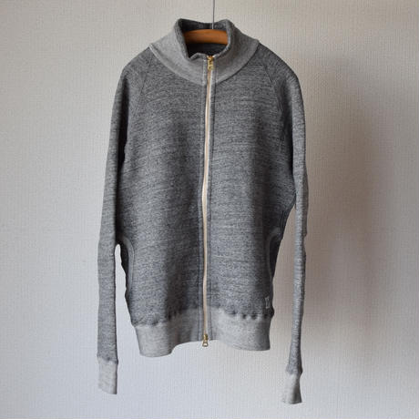 """【RECOMMEND】Kepani  STAND NECK SWEAT JACKET """"GREAT SMOKY"""" GRY スタンドネックスウェットジャケット""""グレートスモーキー"""" グレー"""