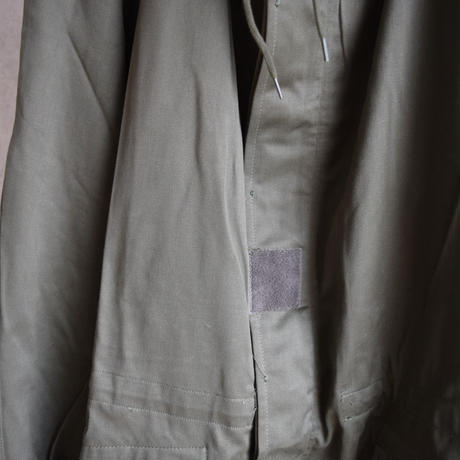 """MILITARY DEADSTOCK  FRENCH ARMY """"M-64"""" FIELD PARKA フランス軍 M-64 フィールドパーカー"""