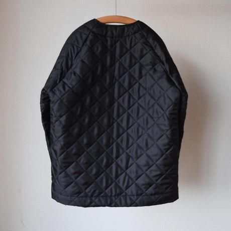 【続、一目惚れご注意!】BEAVER OF BOLTON キルティングジャケット ブラック/ライトオリーブ