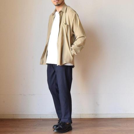 """【オーバーシャツ&シャツジャケの2WAYデザイン!】LA MOND """"SHARI""""SHIRT JACKET ラモンド """"シャリ""""シャツジャケット"""