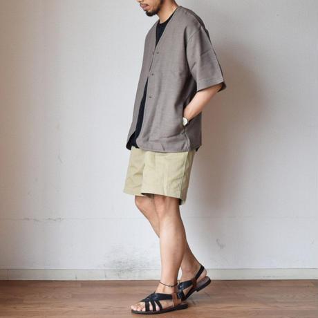 【夏コーデのマンネリ打破に!】EEL Products イール プロダクツ セッタシャツ オリーブ/ブラック