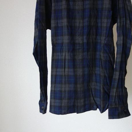 【完売御礼】nisica ニシカ B.D SHIRT NEL CHECK ボタンダウンシャツ ネルチェック  UNISEX 男女兼用