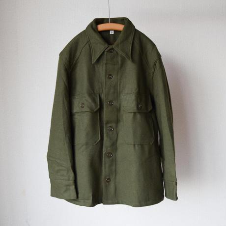 MILITARY DEADSTOCK  アメリカ軍 ウールシャツ オリーブ