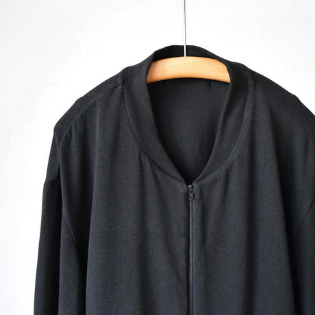 LA MOND  LOUNGE SUEDE JACKET&PANTS スエード調 ラウンジジャケット&ラウンジパンツ ブラック