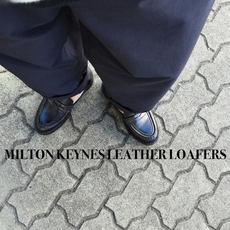 MILTON KEYNES LEATHER LOAFFERS ミルトンキーンズ レザーローファー