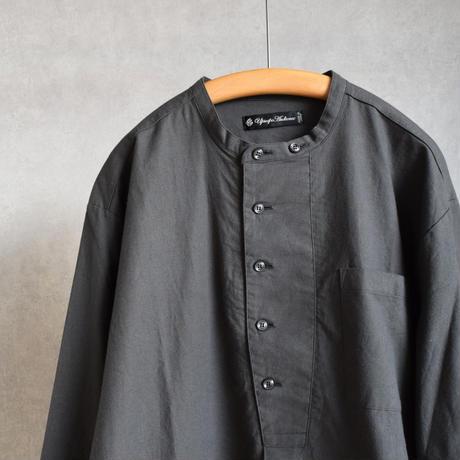 AUDIENCE オーディエンス プルオーバーコックシャツ Cベージュ/アイボリー/オリーブ/チャコール/ブラック