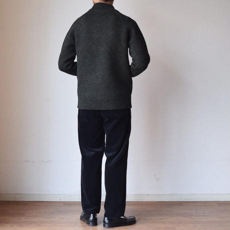【今季はインポートファブリック採用!】STILL BY HAND スティルバイハンド コーデュロイ ベイカーパンツ アンバーブラウン/ブラック