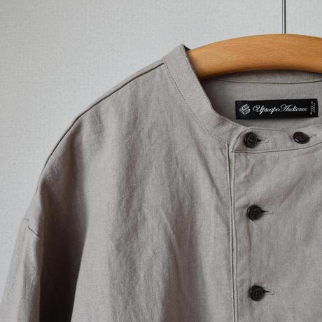 【4月末入荷予定分】AUDIENCE×comoda C/L COOK SHIRTS 3/4SLEEVE コットンリネン 3/4袖 コックシャツ アイボリー/グレージュ