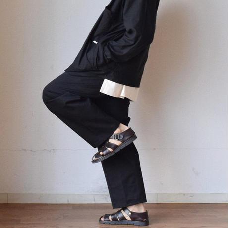 【入荷しました!】ANTICHI ROMANI アンティキロマーニ グルカサンダル ブラック/ブラウン
