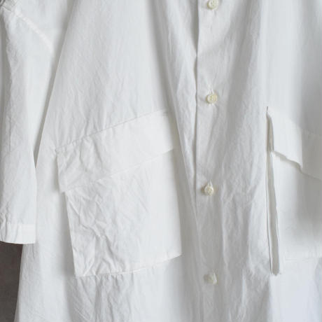 UNITUS  PATCH & FLAP HALF SLEEVE OVER SHIRT ユナイタス