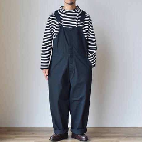 A VONTADE MOCK NECK BORDER L/S ア ボンタージ  モックネック ボーダーTEE